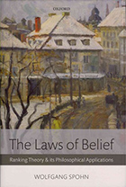[Cover] The Laws of Belief: Ranking Theory and Its Philosophical Applications
